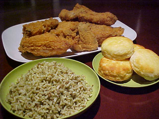 Popeyes Fried Chicken Meal popeye's fried chicken, biscuits and cajun ...