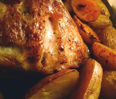 porkography v roasted pork butt with potatoes my