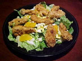 nowserving_Friedchickensalad