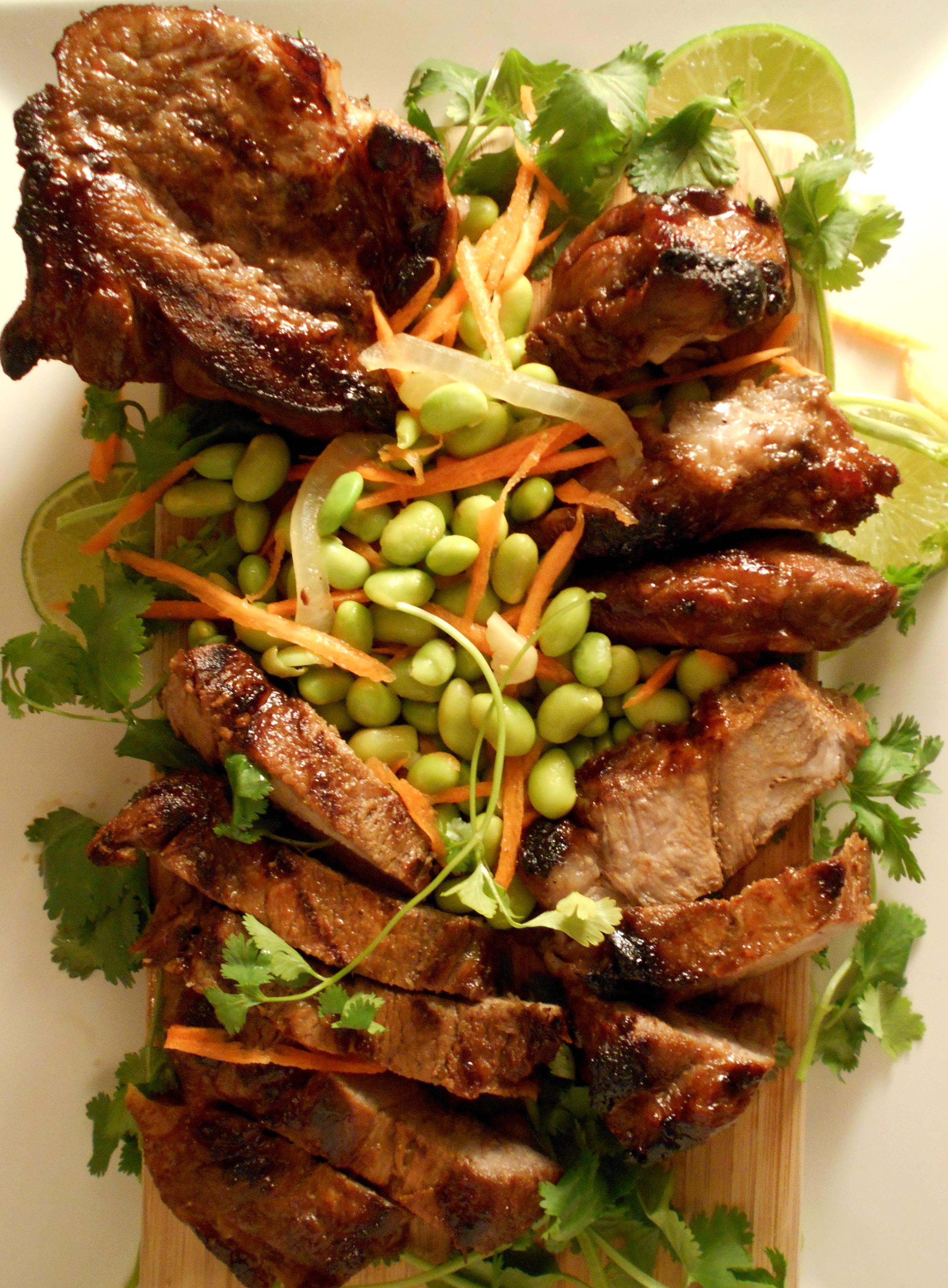 Polynesian pork loin recipe